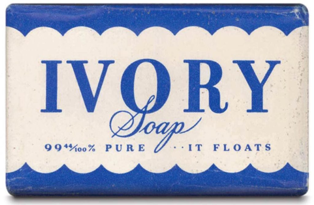 Ivory re-positioning strategy